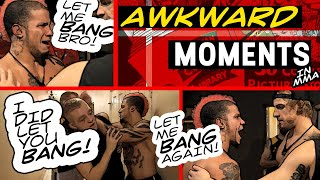 Most Awkward Moments In MMA