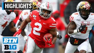 Highlights: Buckeyes Cruise to 73-14 Win | Maryland at Ohio State | Nov. 9, 2019