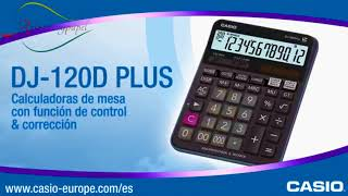 Calculadora Casio DJ 120D Plus