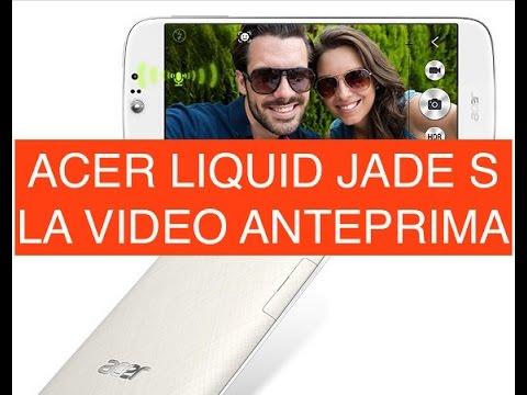 Acer Liquid Jade S, anteprima video in Italiano