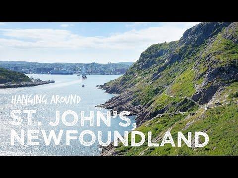 Hanging Around St John's, Newfoundland