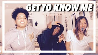 Gambar cover GET TO KNOW ME / VLOG (SHE SLAPPED ME )!!!
