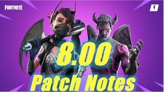 8.00 Patch Notes - HUGE Gift Box Rewards & Hero Update / Fortnite