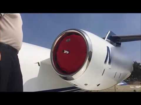 Learjet 45 Inlet Covers - TFE-731-20 - JetBrella Engine Covers