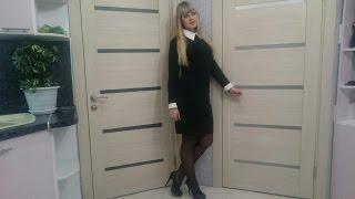 Платье с белым воротником с AliExpress