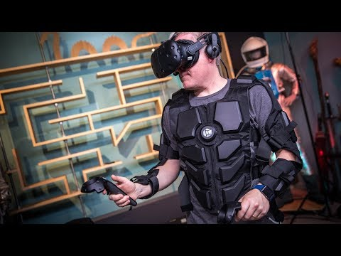 PROJECTIONS, Episode 28: Hardlight VR Haptics Suit!