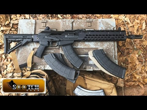 Krebs Custom KV13 Mod 2 AK 47 Rifle Review