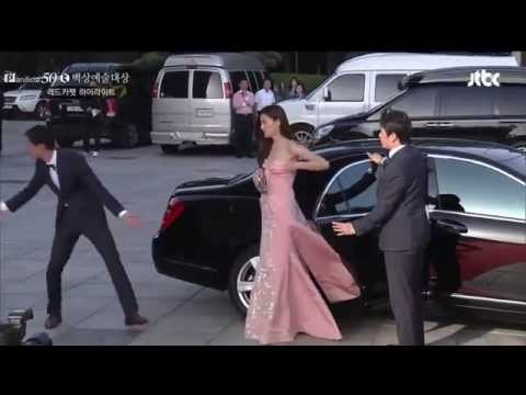 Baeksang 50th 2014Wangjhouse Gianna Jun & Kim Soo Hyun CUT