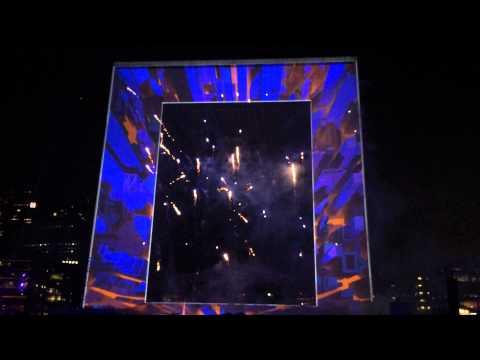 Firework Show @La Grande Arche de la Défense, Paris 09192014