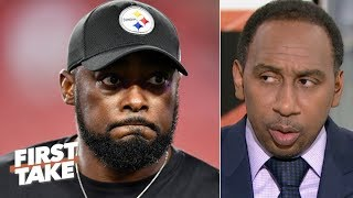 Stephen A. calls out Mike Tomlin: Steelers fans crave a 'Steel Curtain' resurgence | First Take