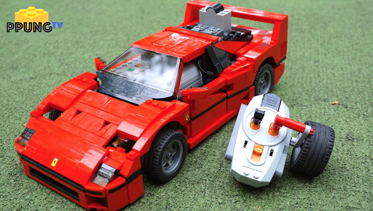 lego 10248 ferrari f40 rc motorized f40 review by youtube. Black Bedroom Furniture Sets. Home Design Ideas
