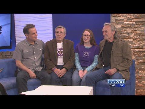 Doug Johnson, Eddie Kennedy, Sophie Kennedy, & Muse Watson:  Saracare Celebration