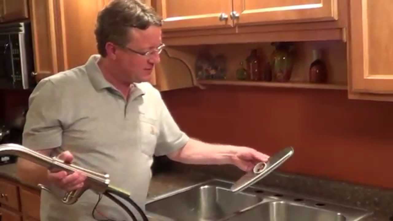 Pfister Selia Kitchen Faucet How To Install A Pfister Touch Free Kitchen Faucet Youtube