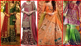 Beautiful latest walima dress designs stylish embroidered fancy dresses