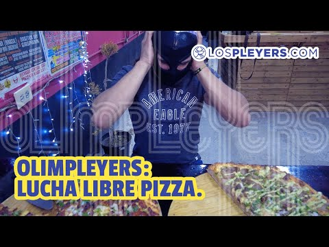 Lucha Libre Pizza | Lonche #Olimpleyers