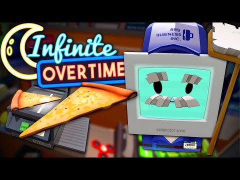 BROKEN PHOTOCOPIER MAKES FLOATING PIZZA - Job Simulator VR (Infinite Overtime) #11