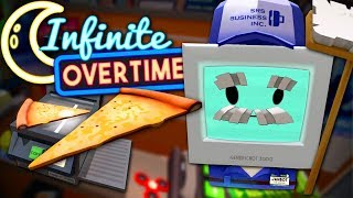 BROKEN PHOTOCOPIER MAKES FLOATING PIZZA - Job Simulator VR (Infinite Overtime) #11
