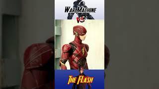 #Short War Machine vs The Flash