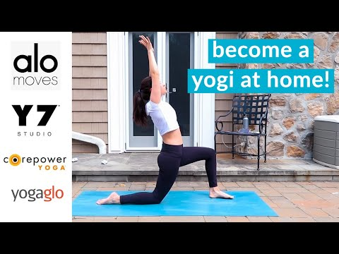 5 BEST At-Home Yoga Classes (to stream online during quarantine!)