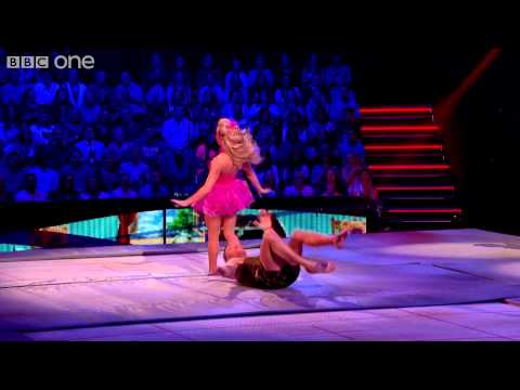 John Partridge's Trampoline Performance to 'Treasure' - Tumble: Episode 4 - BBC One
