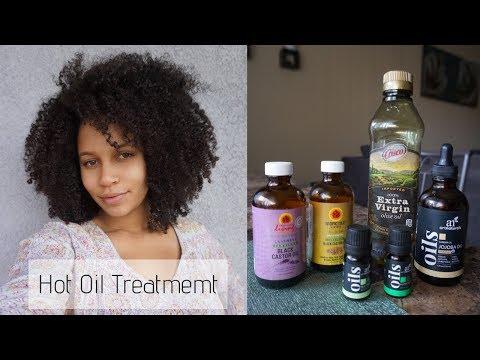 Diy Hot Oil Treatment 6 Oils For Hair Growth Moisture Calicurls