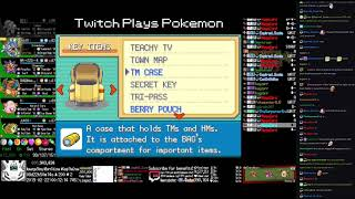 Twitch Plays Pokémon Anniversary Burning Red - Hour 215 to 216