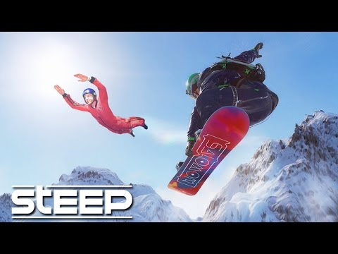 STEEP - O JOGO INCRÍVEL de SNOWBOARD / SKI / WINGSUIT!