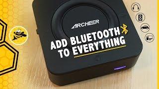 Add Bluetooth to Everything: Archeer Bluetooth Transmitter Receiver BT-07