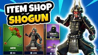 *NEW* SHOGUN FORTNITE SKIN - ITEM SHOP UPDATE MARCH 8