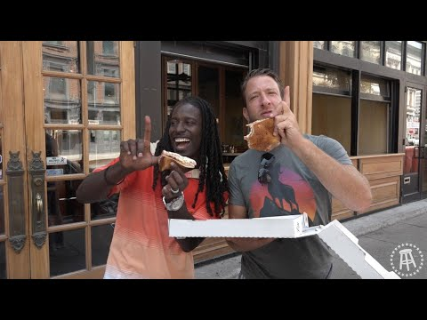 Barstool Pizza Review - Impellizzeri's Pizza (Louisville,KY) WIth Special Guest Deion Branch