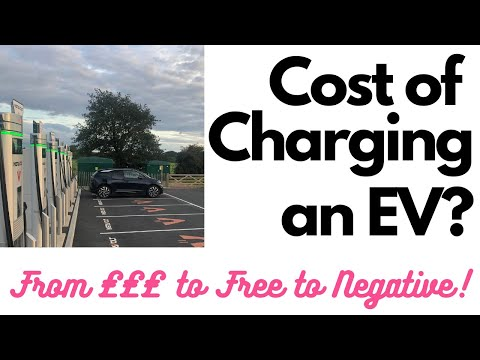 How Much Does It Cost To Charge An Electric Car? EV Charging From Expensive To Free To Negative