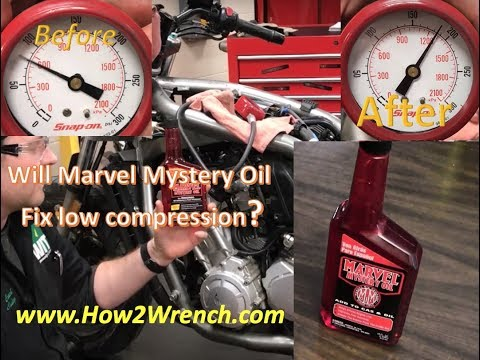 Does the Marvel Mystery Oil trick REALLY work to raise low compression?