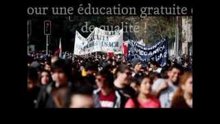 Marcha estudiantil / L'éducation du Chili