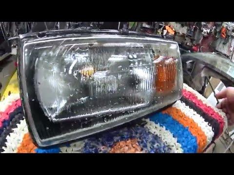 Как помыть фару любого авто изнутри? Легко!