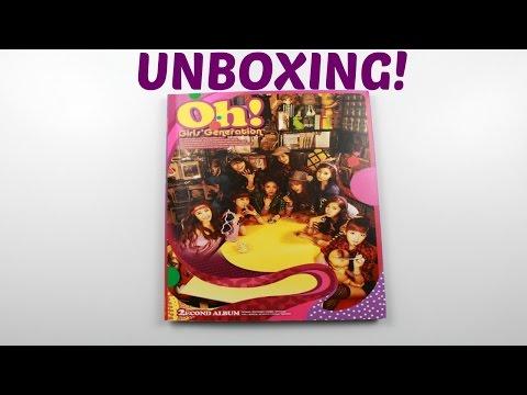 Girls' Generation Oh! Unboxing! [소녀시대]