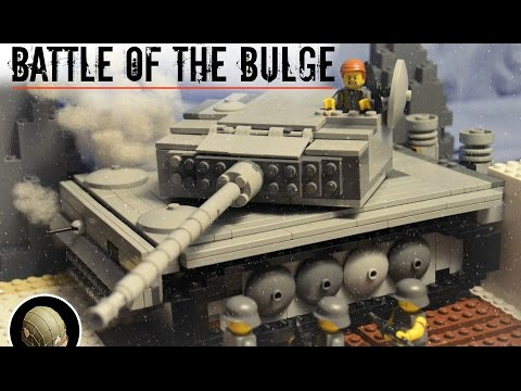 LEGO® WW2: BATTLE OF THE BULGE | BRICKFILM
