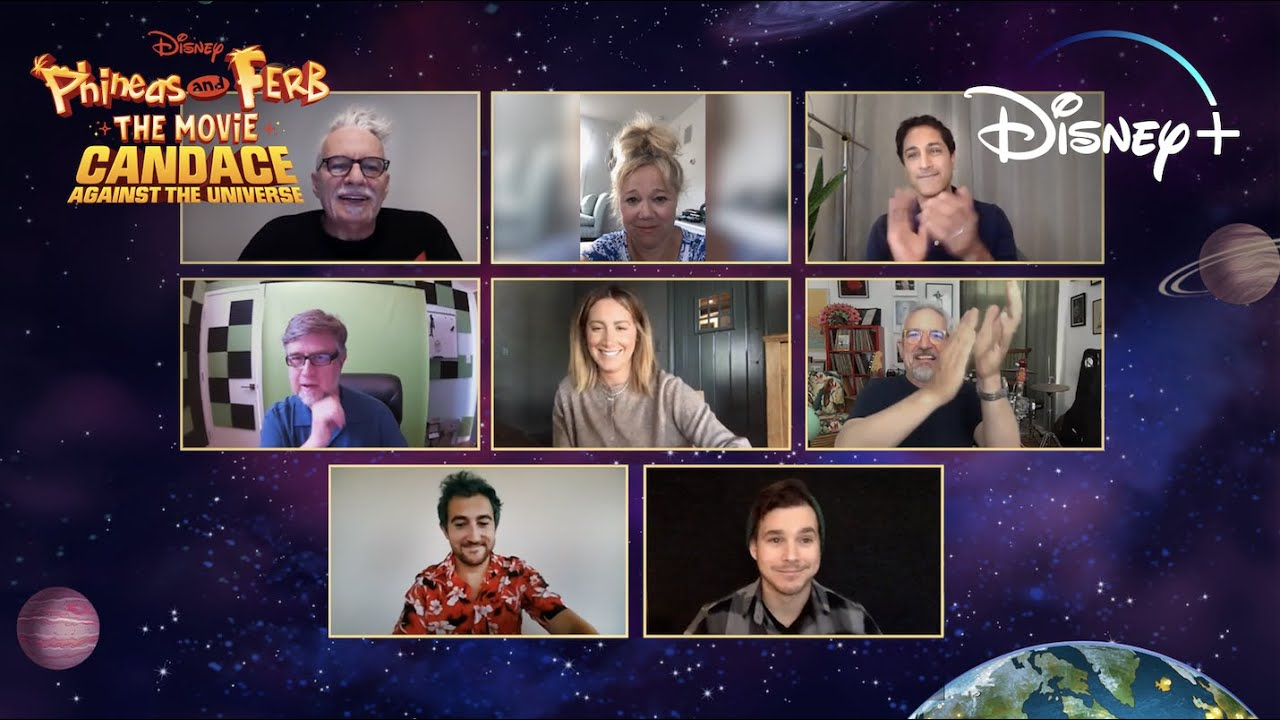 The Cast Gives an Exclusive Sneak Peek of Phineas and Ferb: Candace Against the Universe   Disney+