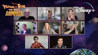 The Cast Gives an Exclusive Sneak Peek of Phineas and Ferb: Candace Against the Universe | Disney+