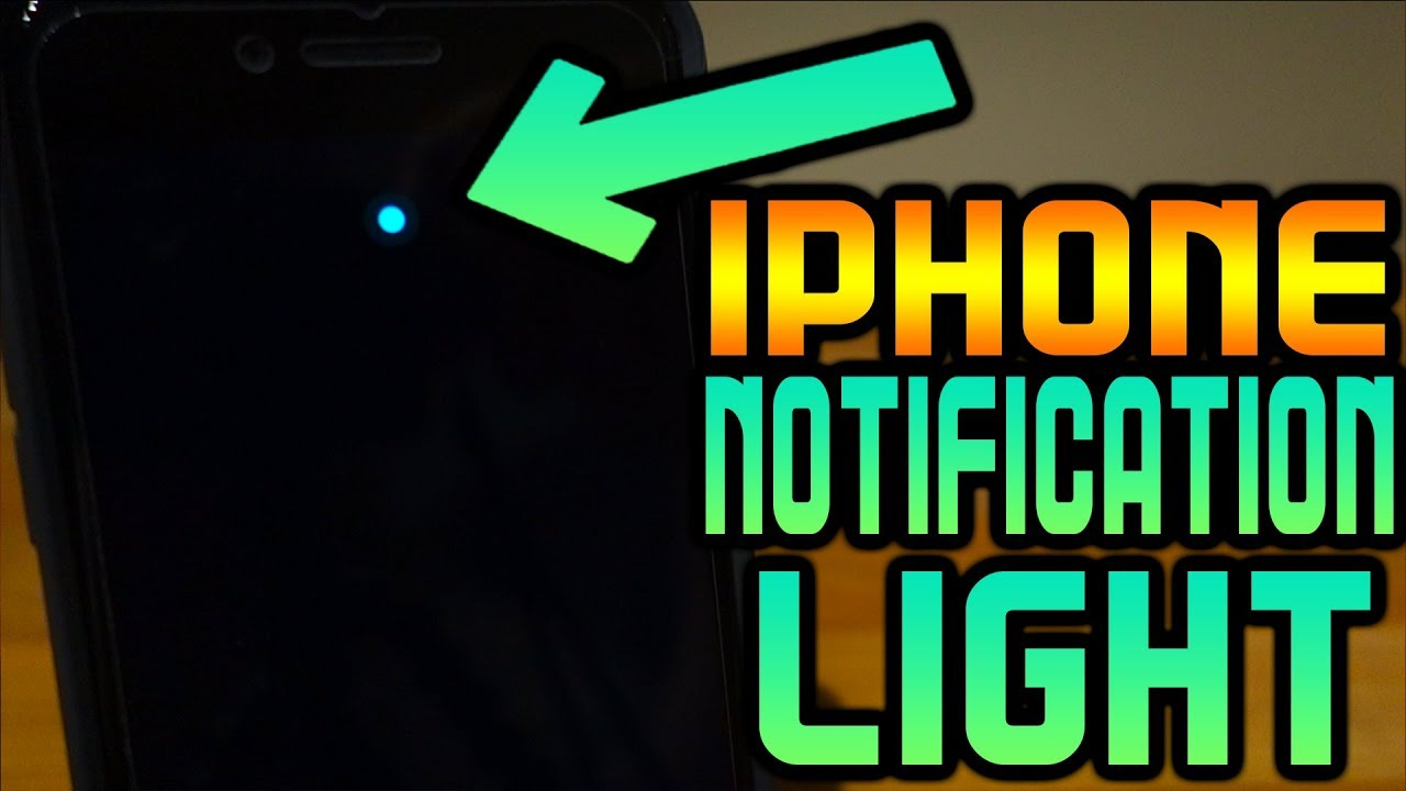 iPhone LED Notification Light Always On Tweak - Dots For iPhone X