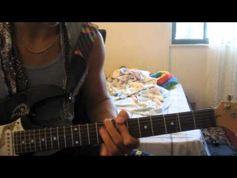 Jimi Hendrix - Bleeding Heart Tutorial - Main/Beginning Riff