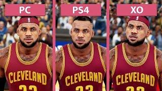 NBA 2K16 – PC vs. PS4 vs. Xbox One Graphics Comparison [FullHD][60fps]