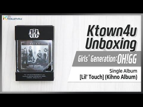 [Ktown4u Unboxing] GIRLS' GENERATION Oh!GG - Single KIHNO Album [Lil' Touch] 소녀시대 오!지지 몰랐니 언박싱