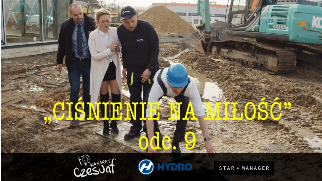 """""""CIŚNIENIE NA MIŁOŚĆ"""" odc. 9 pt. """"Budowa"""" (Kabaret Czesuaf)"""