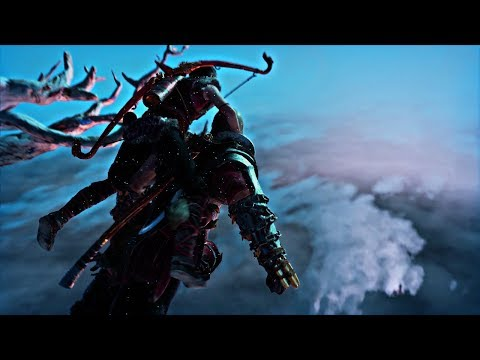 God of War - Jumping off the World Tree to the Realm Between Realms