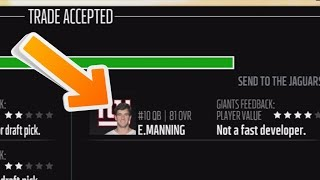 MOST LIKELY NFL TRADE DEADLINE DEALS ATTEMPED IN MADDEN 18!
