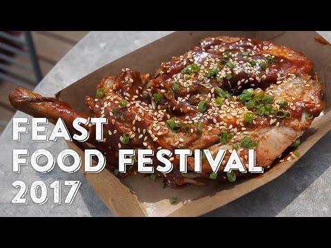 VLOG#8 Shanghai FEAST Food Festival 2017! I ate until my mouth bled!