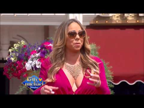 Mariah Carey Infinity Live! With Kelly and Michael 2015 05 22