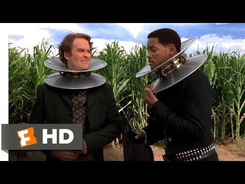 Wild Wild West (6/10) Movie CLIP - Magnetic Collars (1999) HD