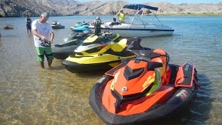 2015 Sea-Doo New Model Media Ride