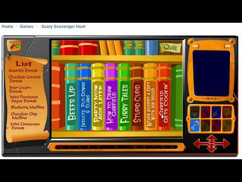 How To Arrange The Books In The Shortest Time By Nightmare Ronightmare Ro Guides Garfield S Scary Scavenger Hunt Speedrun Com